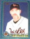 2001 Topps Chrome Pat Hentgen #408 Orioles