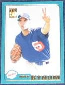2001 Topps Traded Mike Bynum #T156 Padres