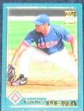 2001 Topps Traded Carlos Pena #T187 Rangers