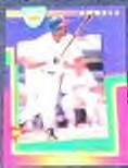 93 UD Fun Pk Chili Davis #38 Angels