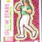 93 UD Fun Pk Glow Stars Mark McGwire #48 Athletics