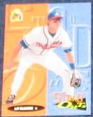 94 UD Fun Pk Stand Outs Jeff Blauser #189 Braves