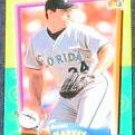 94 UD Fun Pk Brian Harvey #134 Marlins