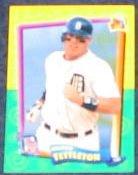 94 UD Fun Pk Mickey Tettleton #20 Tigers