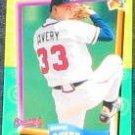 94 UD Fun Pk Steve Avery #33 Braves