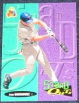 94 UD Fun Pk Stand Outs Ivan Rodriguez #176 Rangers