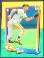 94 UD Fun Pk Jay Bell #161 Pirates