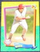 94 UD Fun Pk John Kruk #120 Phillies