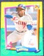 94 UD Fun Pk Kenny Lofton #107 Indians