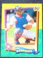 94 UD Fun Pk Ivan Rodriguez #70 Rangers