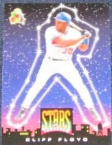 94 UD Fun Pk Stars of Tomorrow Cliff Floyd #2
