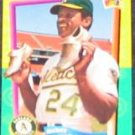 94 UD Fun Pk Rickey Henderson #124 Athletics
