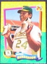 94 UD Fun Pk Rickey Henderson #124 Athletics