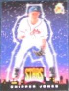 94 UD Fun Pk Stars of Tomorrow Chipper Jones #5