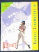 93 UD Fun Pk Fold Outs Darryl Strawberry #220 Dodgers