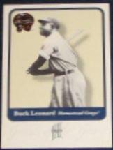 2001 Fleer Greats of the Game Buck Leonard #71
