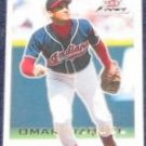 2001 Fleer Focus Omar Vizquel #190 Indians