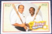 1992 UD Baseball Heroes Bench & Morgan #44