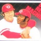 92 UD Baseball Heroes Big Red Machine Bench/Morgan #45