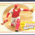 92 UD Baseball Heroes Johnny Bench #38