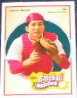92 UD Baseball Heroes Johnny Bench #37