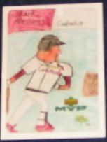 2000 UD MVP Draw Your Own Card Mark McGwire #DT24