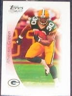 2005 Topps Draft Picks Ahman Green #37 Packers