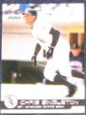 2001 Pacific Chris Singleton #101 White Sox