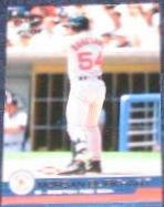 2001 Pacific Rookie Morgan Burkhart #455 Red Sox