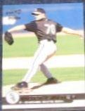 2001 Pacific Rookie Matt Ginter #464 White Sox