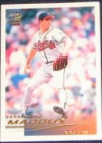 2000 Pacific Crown Spanish Greg Maddux #25 Braves
