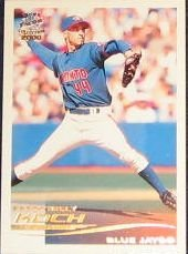 2000 Pacific Crown Spanish Billy Koch #295 Blue Jays