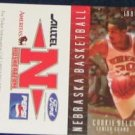 99-00 Nebraska Basketball Pocket Sked. Cookie Belcher