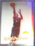 00-01 Fleer Showcase Keith Van Horn #9 Nets