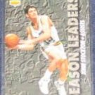 1993-94 UD Season Leaders John Stockton #168 Jazz