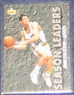 1993-94 UD Season Leaders John Stockton #168 Jazz