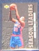 1993-94 UD Season Leaders Dennis Rodman #167 Pistons