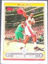2006-07 Topps Basketball Antoine Walker #201 Heat