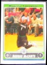 2006-07 Topps Basketball Rashad McCants #196