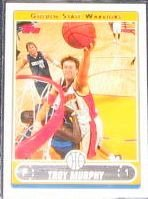 2006-07 Topps Basketball Troy Murphy #168 Warriors