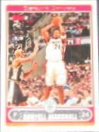 2006-07 Topps Basketball Donyell Marshall #40 Cavaliers