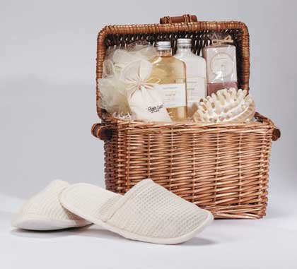 Honey Vanilla Spa-In-A-Basket