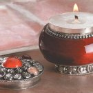 Jewelled Rose Candle-In-A-Jar