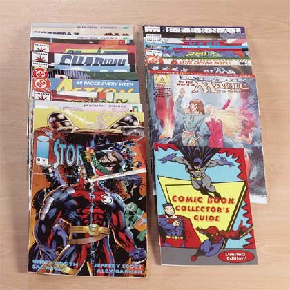 Comic Book Collection Jump Start Kit