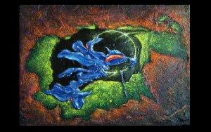 Blue Iris Eclipse