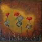 Abstract Flowers/golden light