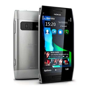 Nokia X7 3G WIFI 8MP 8GB Unlocked Slim Mobile Phone with 4.0''AMOLED TFT Touch Screen