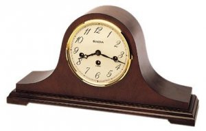 Bulova Dorchester Key Wind Chime Clock B1814