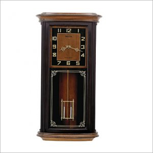 Bulova C4321 Mayfield Chiming Wall Clock