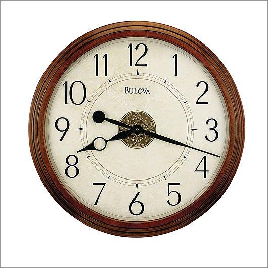 Bulova Ingleton Wall Clock C4282